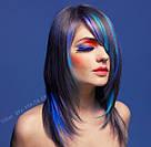 Волосся кольору королівський синій на зажимах, фото 6