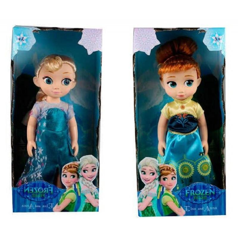 Кукла ZT 8785 AB 2 вида Frozen Анна и Эльза