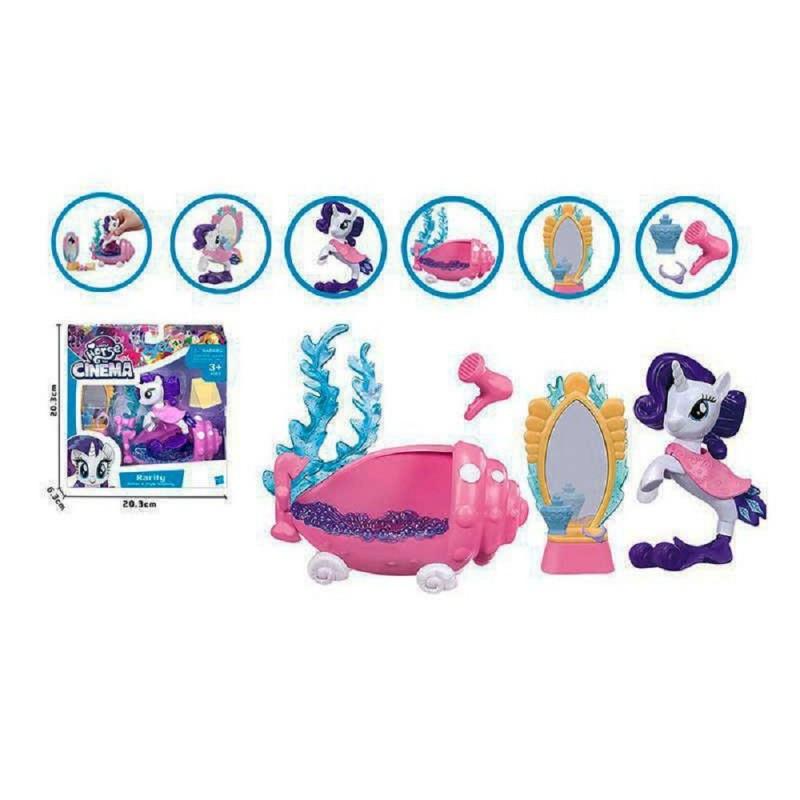 Игровой набор «Пони-русалка в ванной» с аксессуарами BL 067