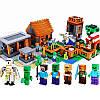 """Конструктор """"Деревня"""" Minecraft Lele 79288 1106 деталей, фото 2"""
