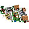 """Конструктор """"Деревня"""" Minecraft Lele 79288 1106 деталей, фото 4"""