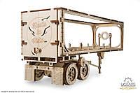 Конструктор механический деревянный модель «Полуприцеп к модели «Тягач VM-03», фото 1