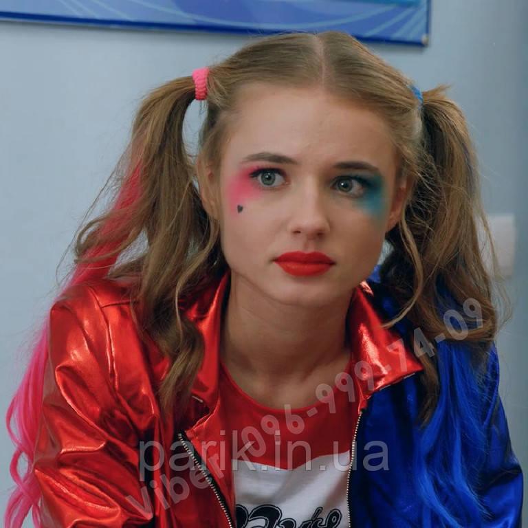 """Кольорові пряді волосся сині як у Лоли (Лізи Василенко) з серіалу """"Школа"""""""