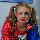 Цветные пряди как у Харли Квинн, Лизы Васыленко - синие, фото 6