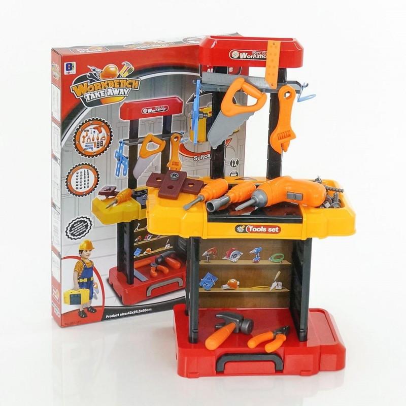 Стол с инструментами набор инструментов 661-181 в чемодане