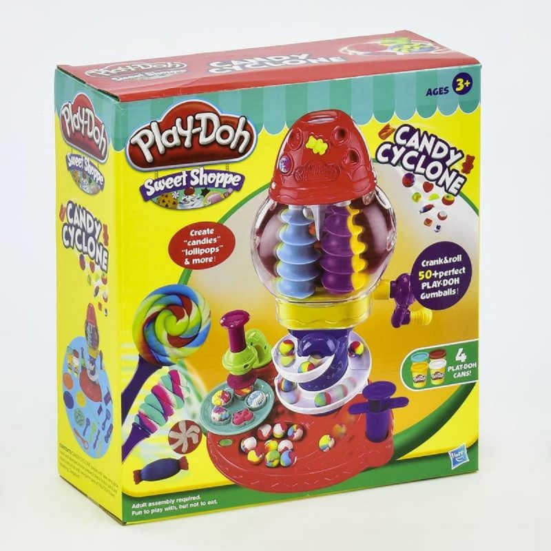 """Игровой набор с тестом для лепки """"Конфетная фабрика"""" Play Doh 6622"""