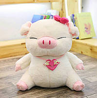 Мягкая игрушка Свинка Большая
