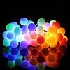 """Светодиодная новогодняя гирлянда """"Шарики"""" 40 LED 4,6 метров на Елку, фото 2"""
