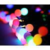 """Светодиодная новогодняя гирлянда """"Шарики"""" 40 LED 4,6 метров на Елку, фото 3"""