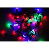 """Светодиодная новогодняя гирлянда """"Шарики"""" 40 LED 4,6 метров на Елку, фото 8"""