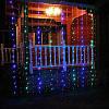 "Гирлянда ""Штора"" (занавеска) 200 LED 5mm 3м/1м разноцветная на прозрачном проводе, фото 2"