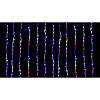 "Гирлянда ""Штора"" (занавеска) 320 LED 5mm 3м/2м разноцветная на прозрачном проводе, фото 2"