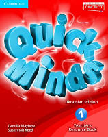 Quick Minds 1 for Ukraine Teacher's Resource Book (Книга вчителя)