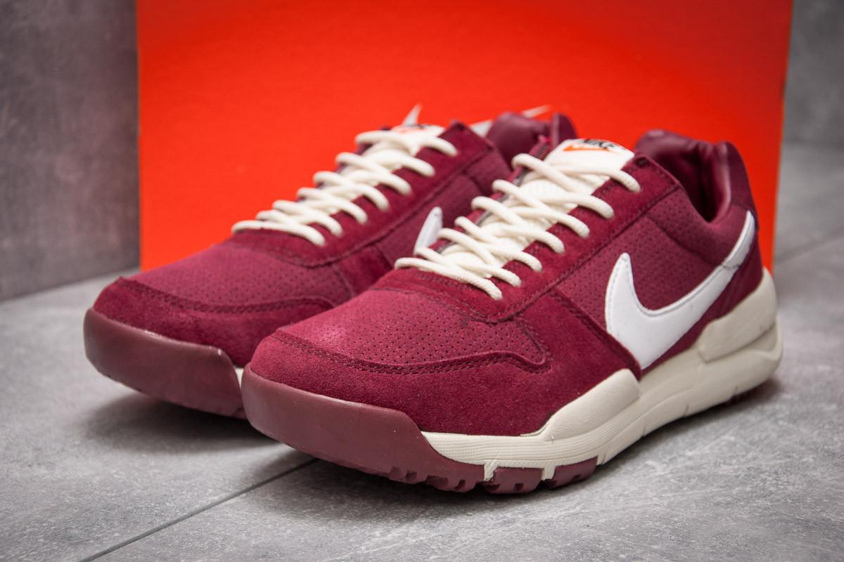 Кроссовки мужские Nike Apparel, бордовые (13155) размеры в наличии ► [  42 43 44  ]