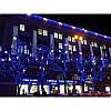 Гирлянда профессиональная светодиодная нить 200 LED 15м на черном проводе уличная цвет синий, фото 5