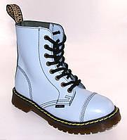 Средние ботинки Steel голубые на 8 дырок, Размер 41, фото 1
