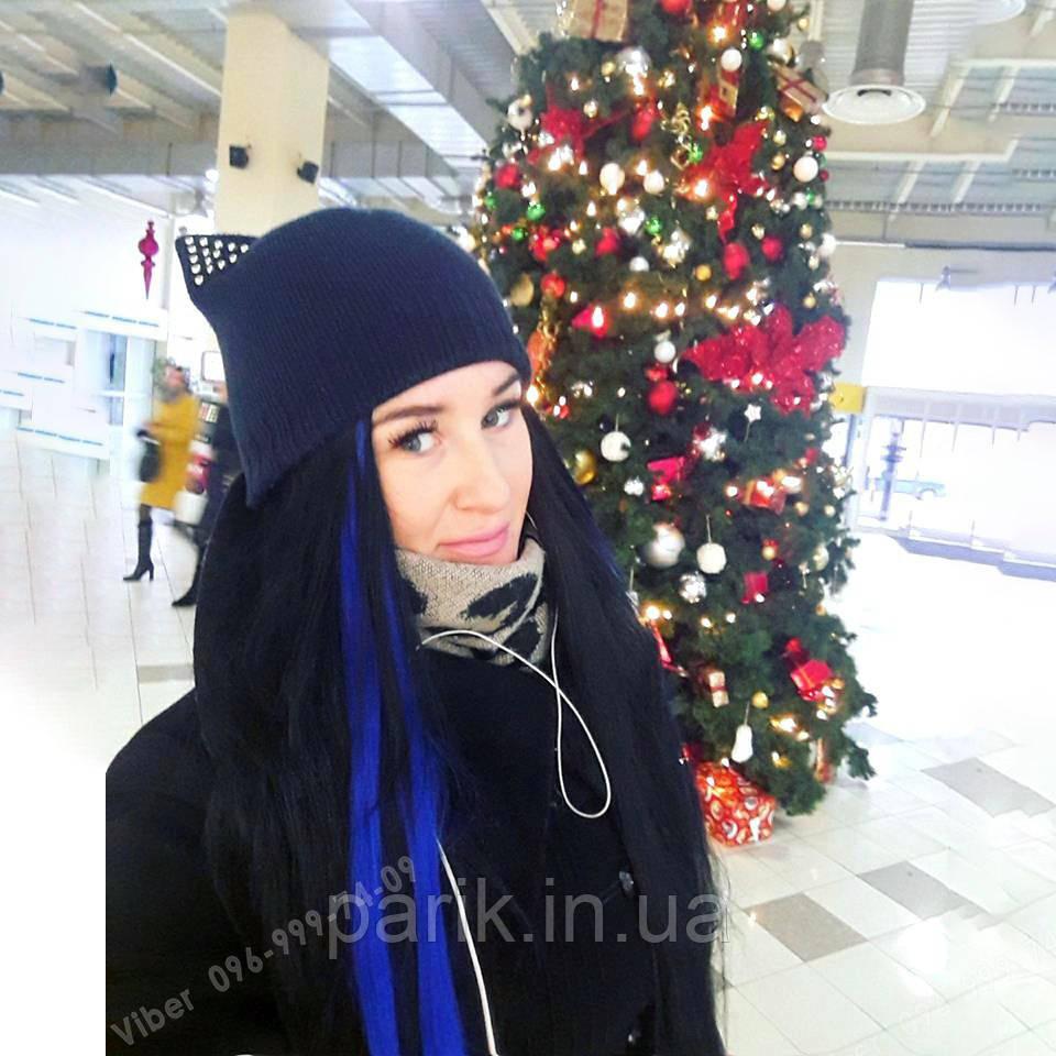 Синие волосы на праздник, утренник, корпоратив, Новый год