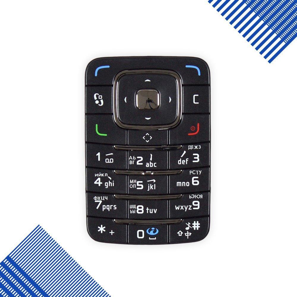 Клавиатура Nokia 6290, цвет черный