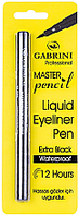 Подводка-фломастер для глаз водостойкий Gabrini Liquid Eyeliner Pen