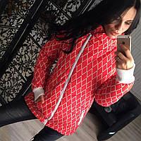 Куртка женская в ромб 27465, фото 1