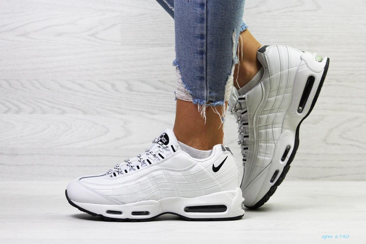 36924a0d2 Женские кроссовки на зиму белые Nike 95 6740, цена 1 036 грн ...