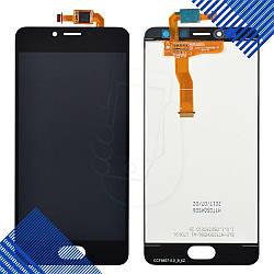 Дисплей Meizu M5C с тачскрином в сборе, цвет черный