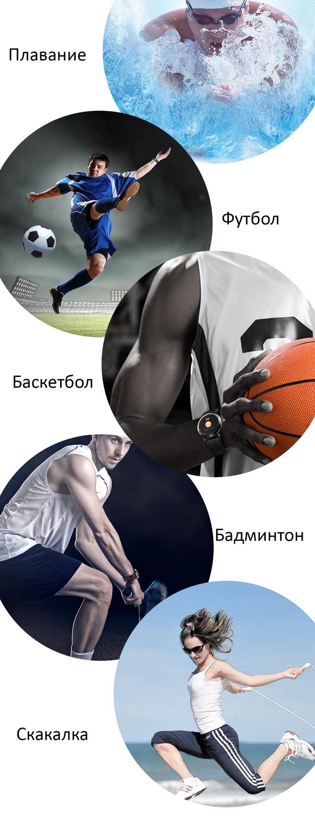 водонепроницаемый фитнес браслет для спорта и повседневной активности R15