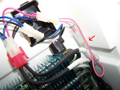 Ремонт холодильника  Whirlpool с системой No Frost