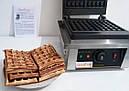 Вафельница бельгийская (квадратная) GoodFood WB1S, фото 4