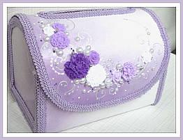 Свадебные коробки для денег, разные цвета