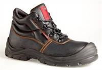 Ботинки рабочие кожаные с мягким катом Стронг-2, литьевой метод,наплыв в носочной части