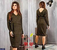 Стильное платье       (размеры 42-48)  0126-81