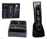 Машинка для стрижки волос с дисплеем Gemei GM-800
