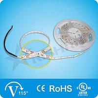 Холодно-белая SMD3528 (120 LED/м) 12990-14820K (9,0W/м)  IP33 Indoor Rishang