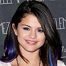 Модные синие прядки волос на заколках, фото 7