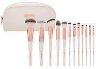 Набор кистей для макияжа BH Cosmetics Rosé Romance (12 штук), фото 1