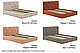 Ліжко двоспальне у м'якій оббивці Хлоя / Кровать двуспальная в мягкой обивке Хлоя, фото 6