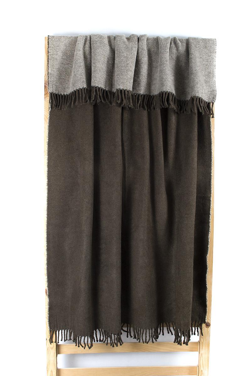 Плед Lotus Mono - Basic коричневый 135*175