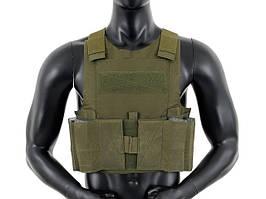 Низкопрофильный Body Armor - Olive [8FIELDS]