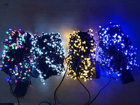 Новогодняя светодиодная гирлянда РУБИНКА 200LED белый, фото 3