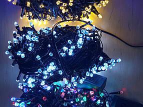 Новогодняя светодиодная гирлянда РУБИНКА 200LED белый, фото 2