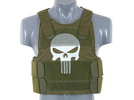 Skull Body Armor - Olive [8FIELDS] (для страйкбола)