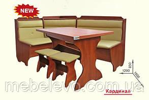 Кухонный уголок комплект Кардинал  850х1600х1200мм   Пехотин, фото 2
