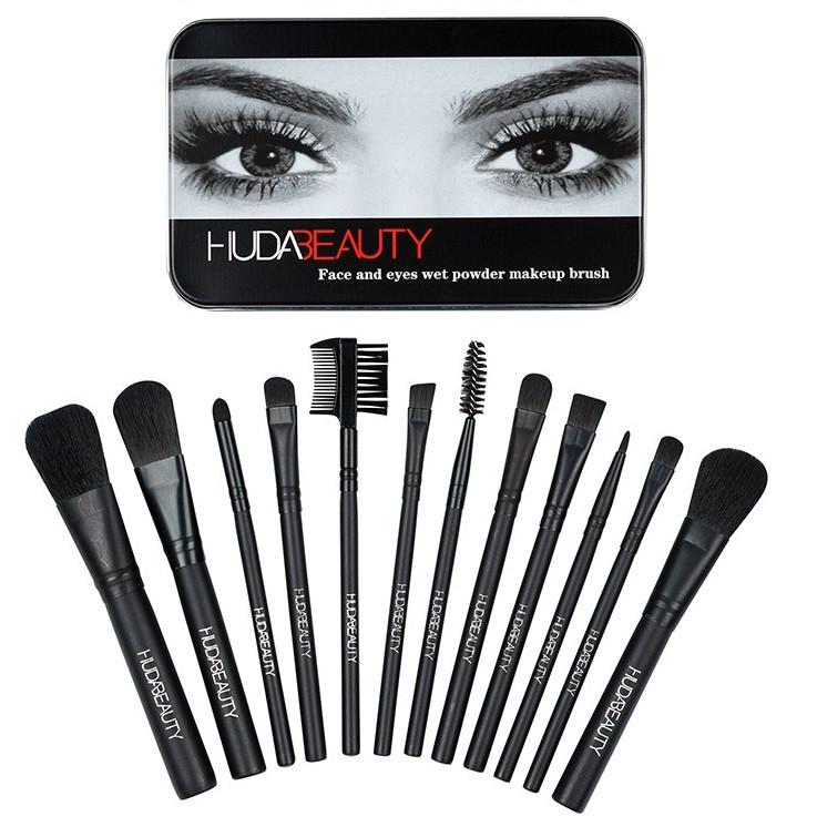 Набор кистей для макияжа Huda Beauty (12 шт.)