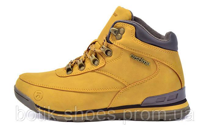 Зимние кроссовки женские, спортивные ботинки Restime 18530 - интернет- магазин обуви