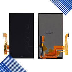 Дисплей HTC One M8 Dual Sim с тачскрином в сборе, цвет черный
