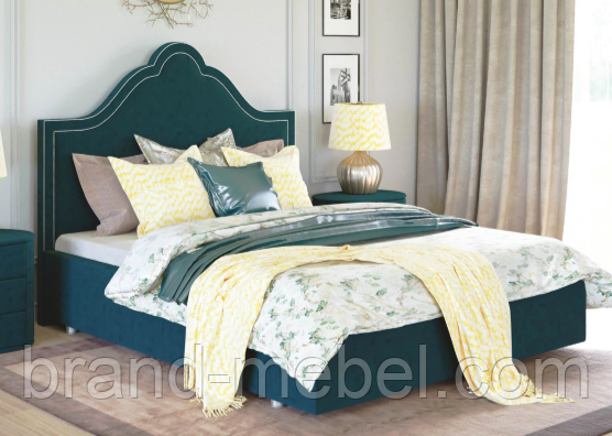 Ліжко двоспальне у м'якій оббивці Сесилія / Кровать двуспальная в мягкой обивке Сесилия