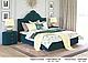 Ліжко двоспальне у м'якій оббивці Сесилія / Кровать двуспальная в мягкой обивке Сесилия, фото 7