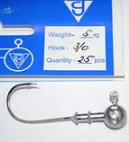 Джиг-головка для рыбалки Gamakatsu №3/0, вес 5г, фото 2