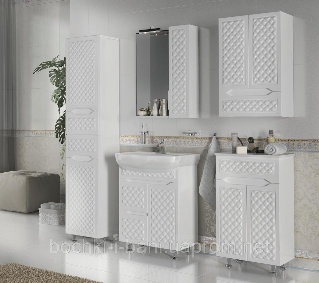 Мебельный гарнитур в ванную из массива
